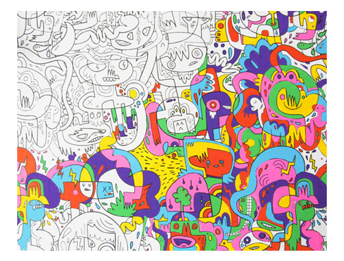 Nineteenseventythree - Jon Burgerman