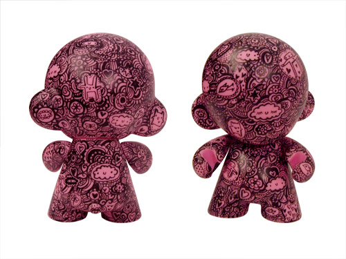 My first customised pink Munny
