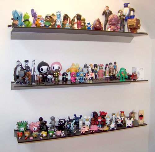 Some of my designer toy collection