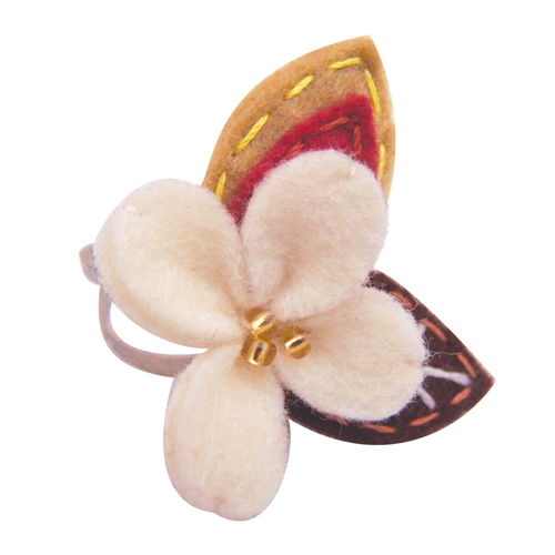 Beautiful day flower ring