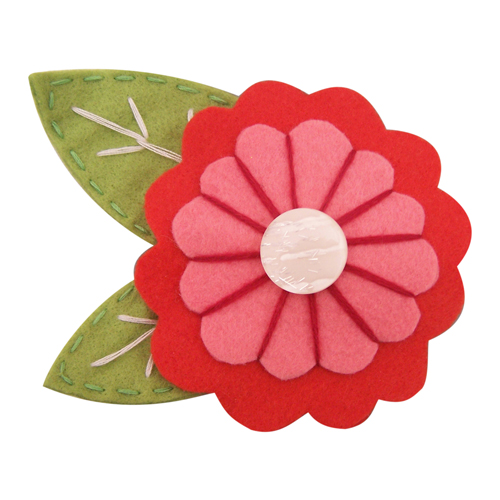 Beautiful day pastel brooch