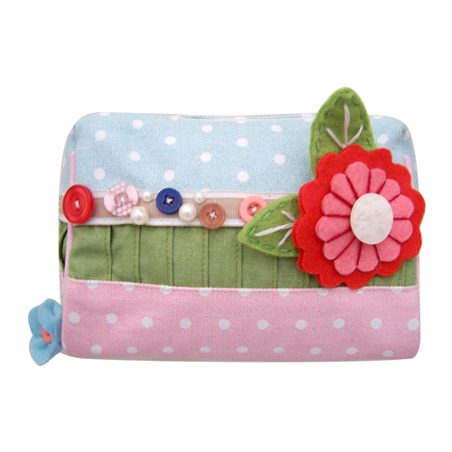 Beautiful day pastel make-up bag
