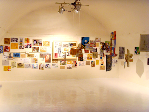 Mail Me Art exhibition