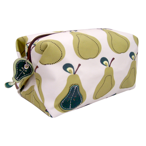 Pear make-up bag