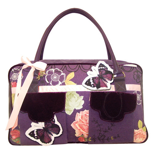 Lavish butterfly overnight bag