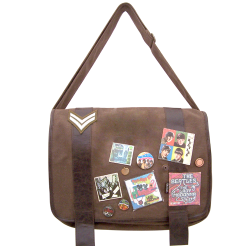 The Beatles military satchel