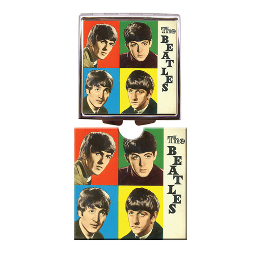 The Beatles compact mirror