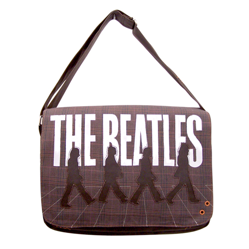 The Beatles Abbey Tweed satchel
