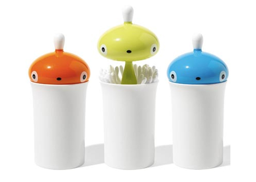 Cotton bud pots