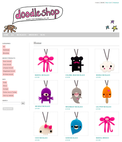 Doodleshop screenshot