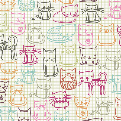 Sugar Coated Cat pattern