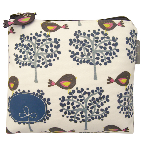 Fruit Tree make-up bag - Tree pattern