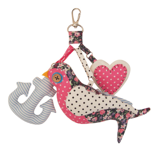 Hello Sailor bag charm