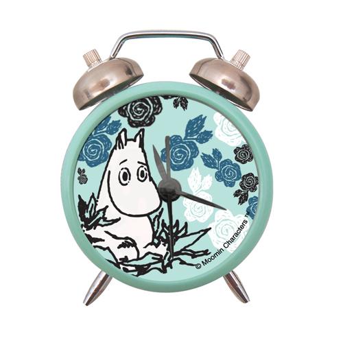 Moomin alarm blue clock