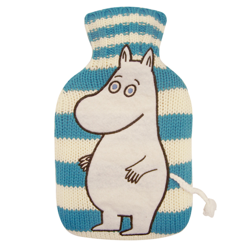Moomin mini hot water bottle