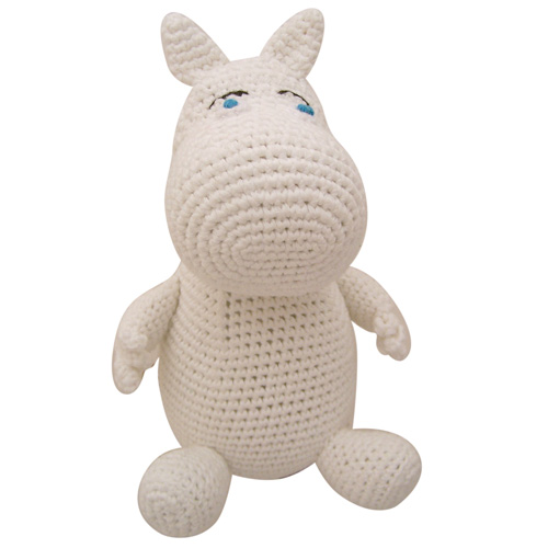 Moomin crochet toy