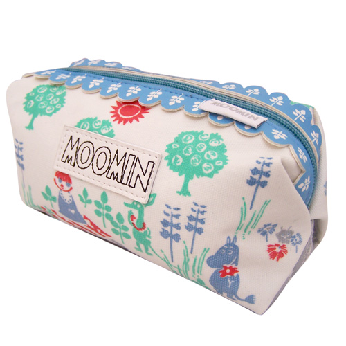 Moomin Spring make-up bag