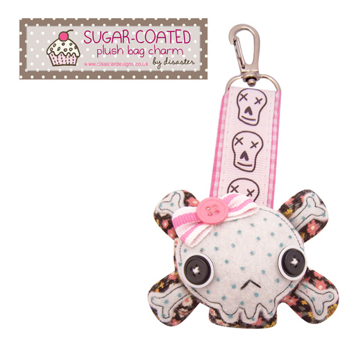 Sugar Coated bag charm