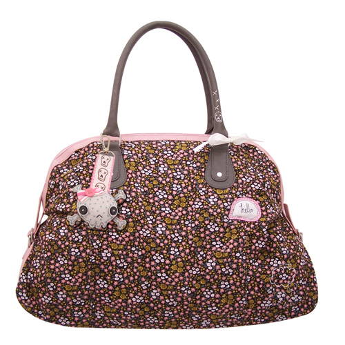 Sugar Coated Skull overnight bag
