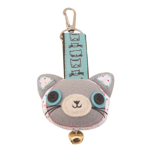 Sugar Coated Cat bag charm