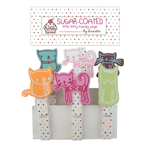 Sugar Coated Cat pegs