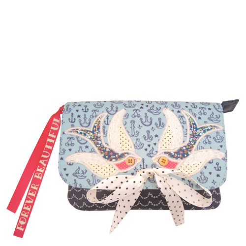 Hello Sailor make-up bag by Disaster Designs