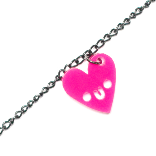 Doodlery heart necklace - small charm