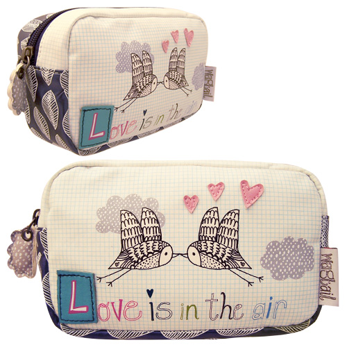 Wagtail make-up bag
