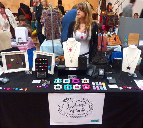 My stall at Craftaganza