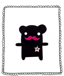 Colonel Bear Brooch