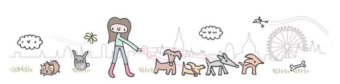 Walker the Dog Walker website banner
