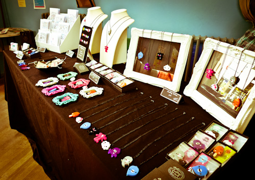 My stall at the Makers Boutique fair in Brighton