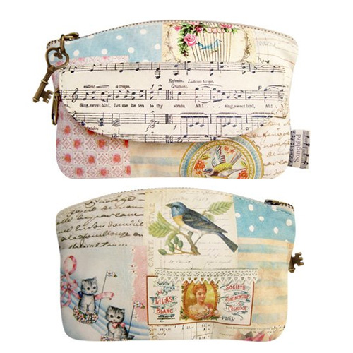Songbird make-up bag