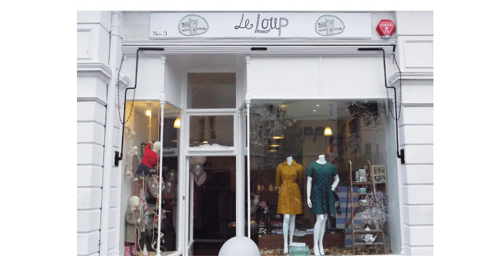 Le Loup shop front design