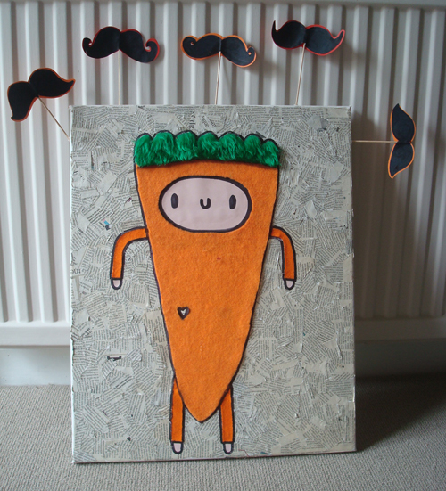 Carrot man by Eve