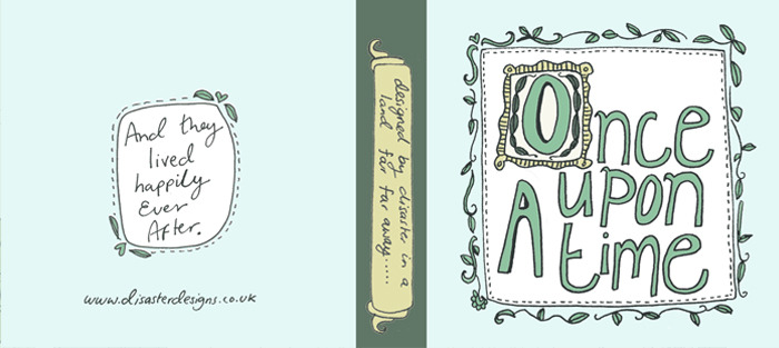 Once Upon a Time swing tag design