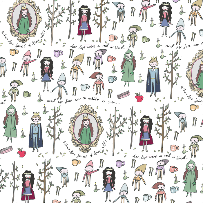 Snow White pattern