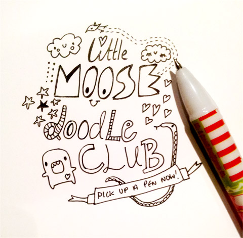 Join the Little Moose Doodle Club