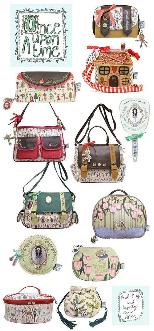 Once Upon a Time bag collection available at Little Moose